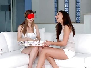 Christmas Came Late By Sapphic Erotica Sensuous Erotic Girly-girl...